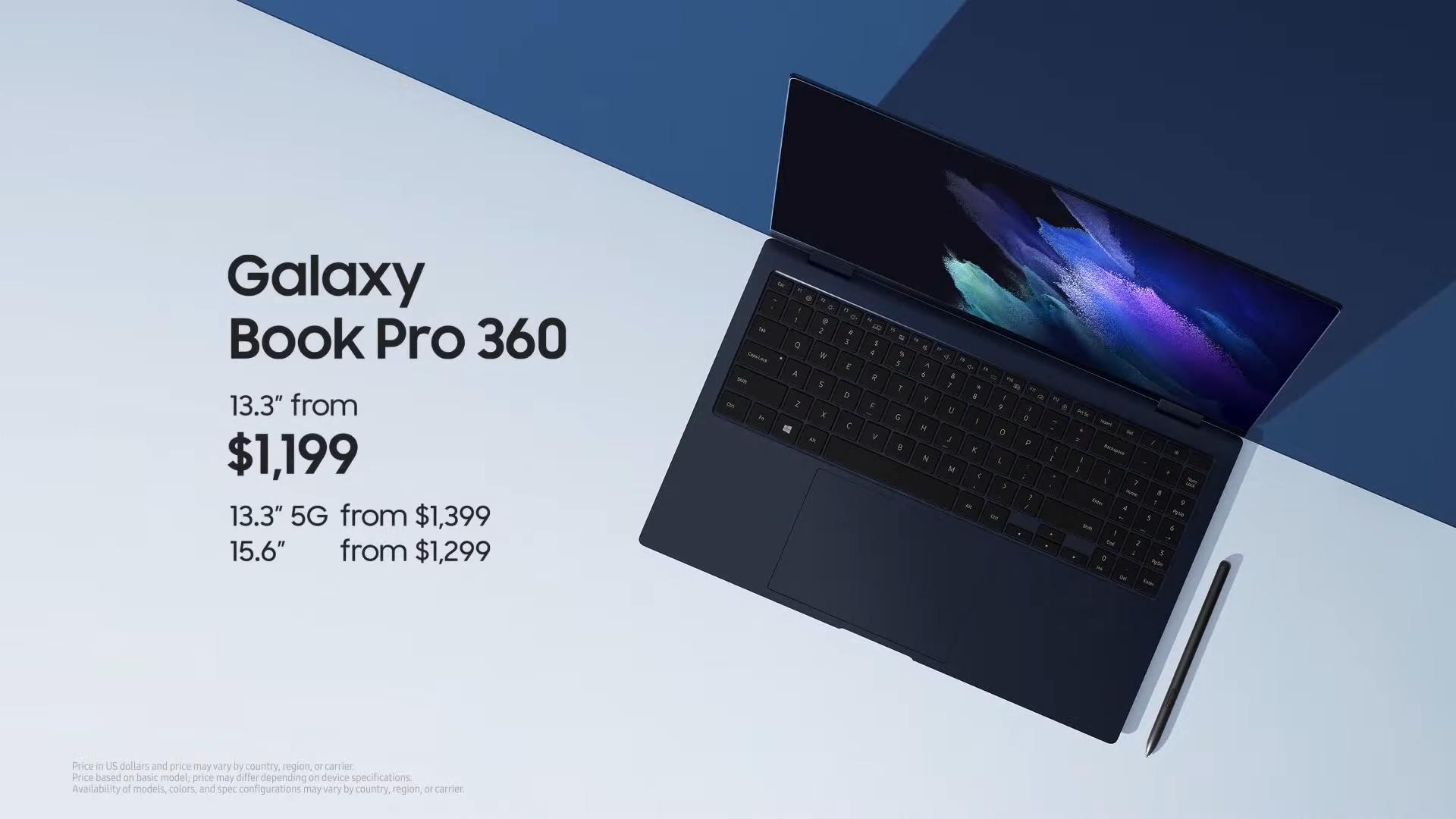 Galaxy Book Pro 360 Price