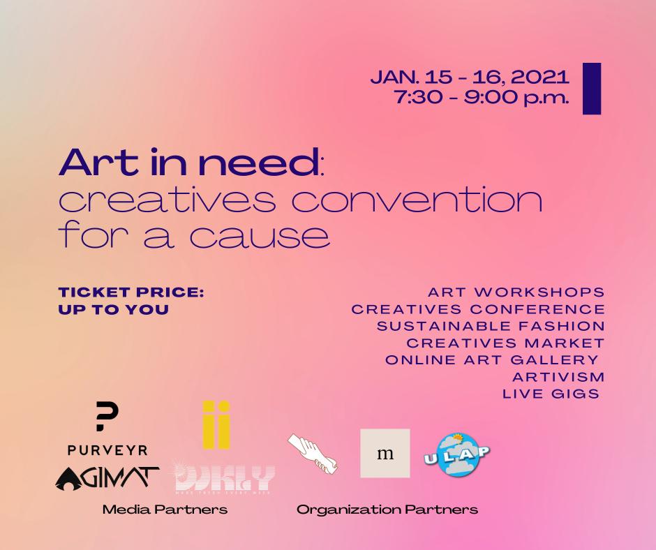 Creatives Con Poster