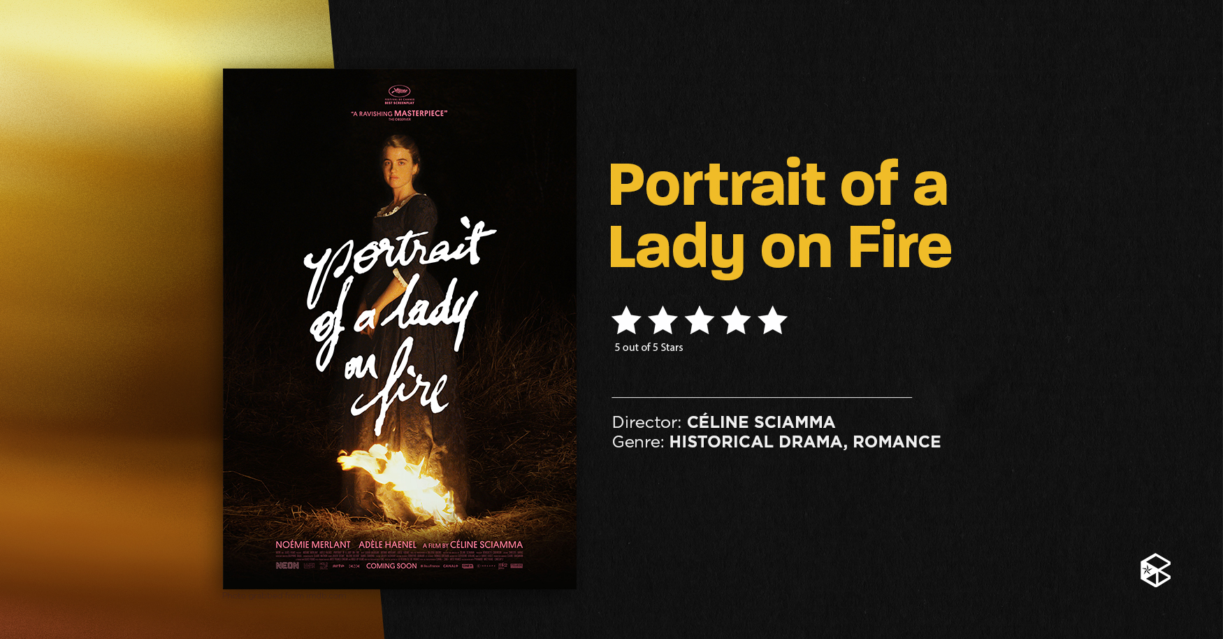 [blip   Female Empowerment Movie Recs] Portrait Of A Lady On Fire