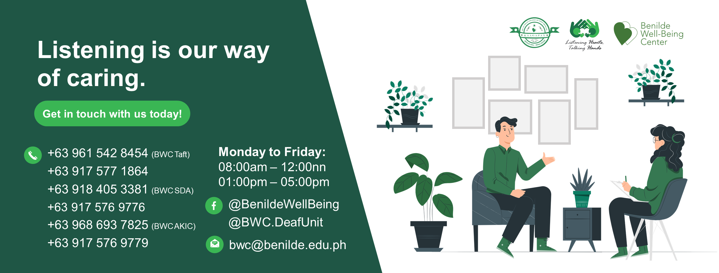 Cover Photo Courtesy Of Benilde Well Being Center