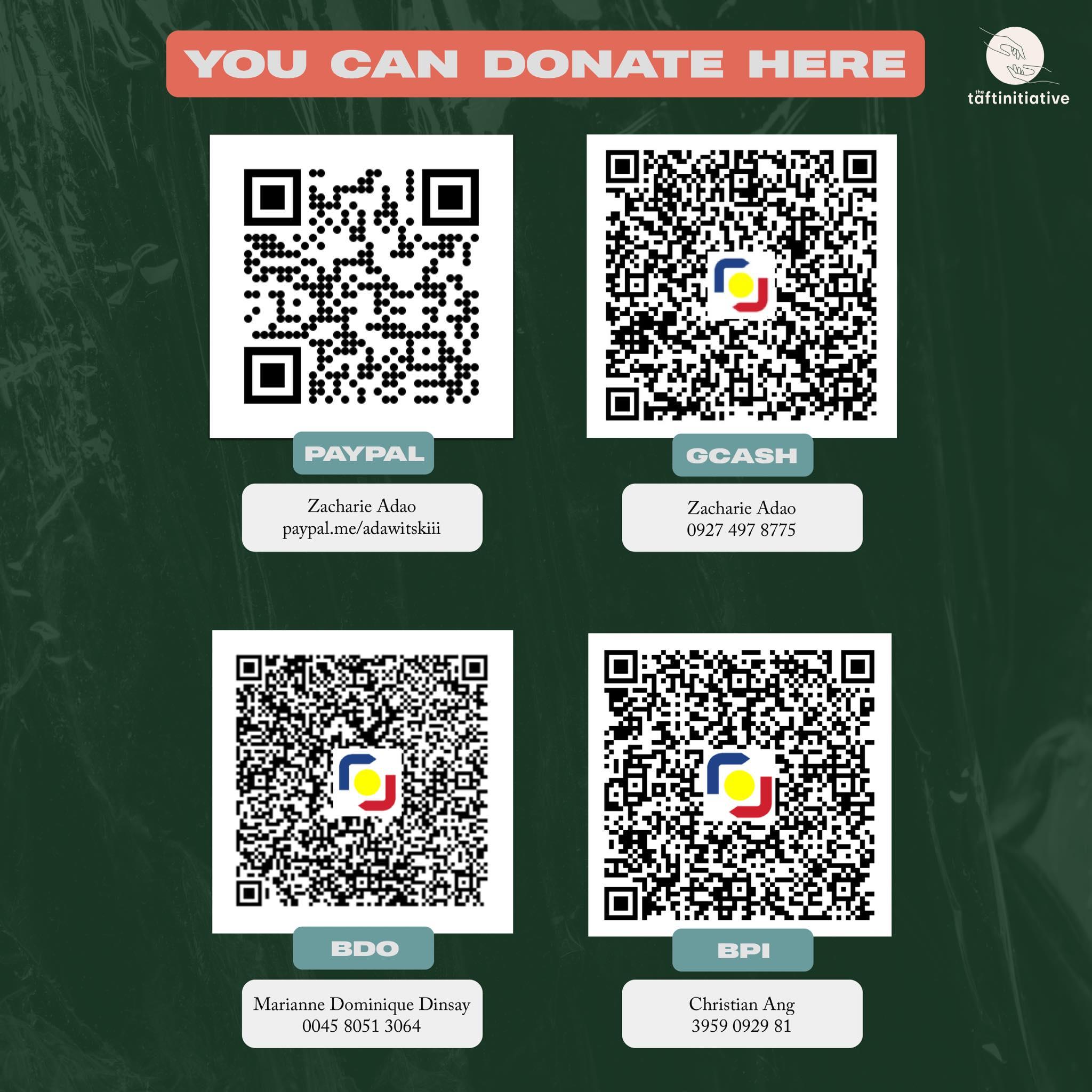 Taft Initiative Qr Code Donations
