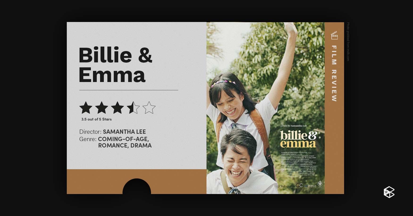 100821 Blip   Billie & Emma Movie Review Banner